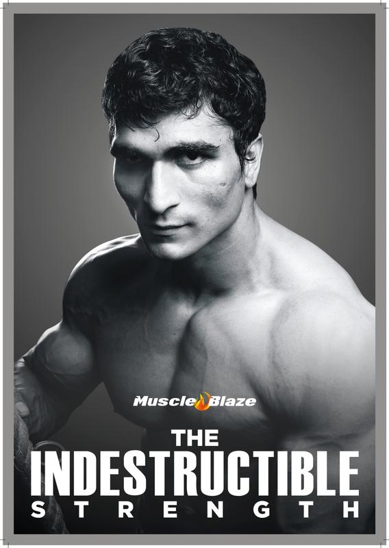 Muscle Blaze Campaign with Vinay Kumar (Mr. India)