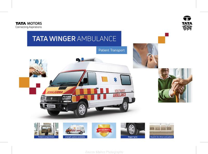 Tata Motors Winger Ambulance