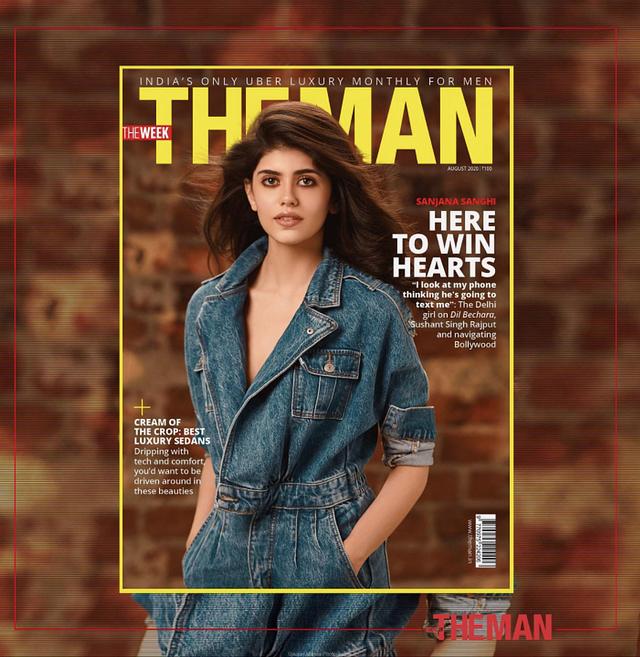 Sanjana Sanghi _ The Man Magazine Editorial