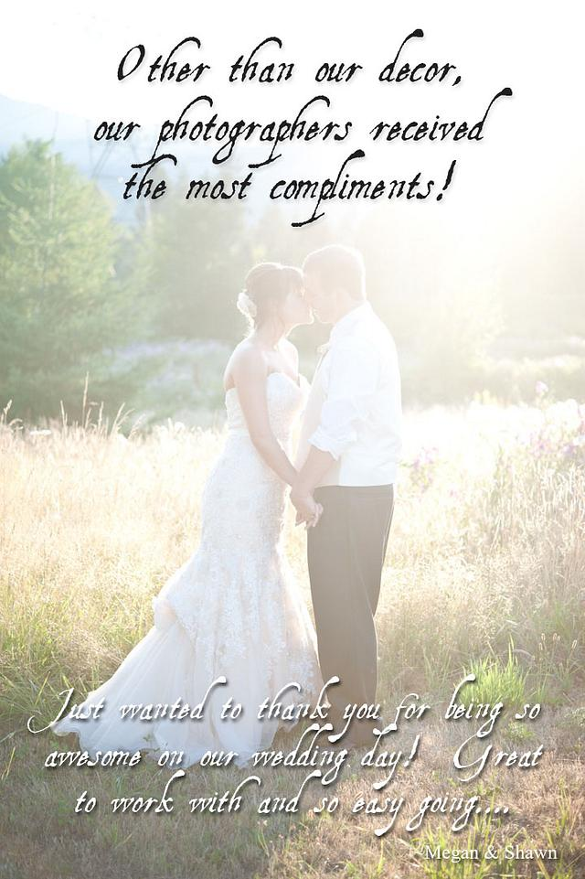 Kudos from our Couples