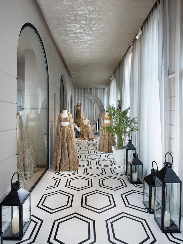 Falguni Shane Peacock Store- Designer- Seetu Kohli Concepts