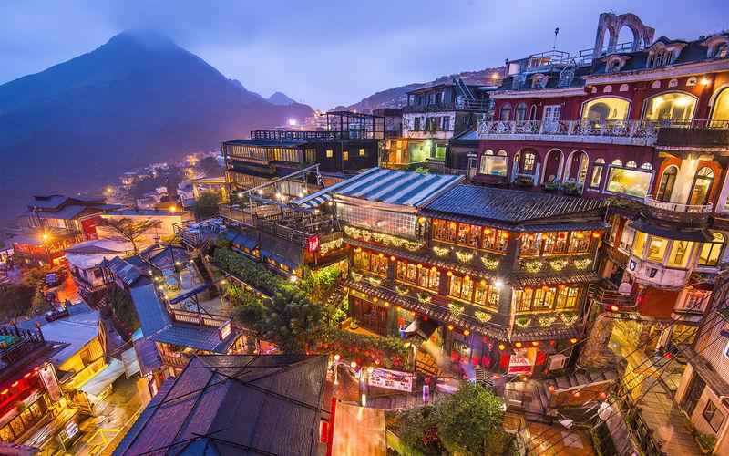 Jiufen, Taiwan.