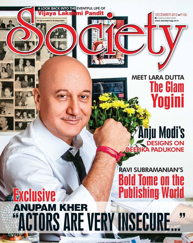 Anupam Kher for Society