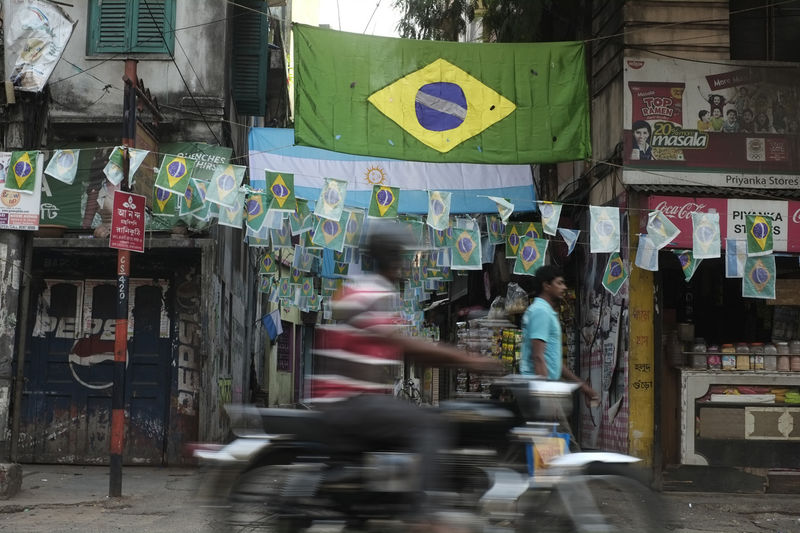 The fiercest rivalry between Brazil and Argentina unfolds in the streets of Kolkata