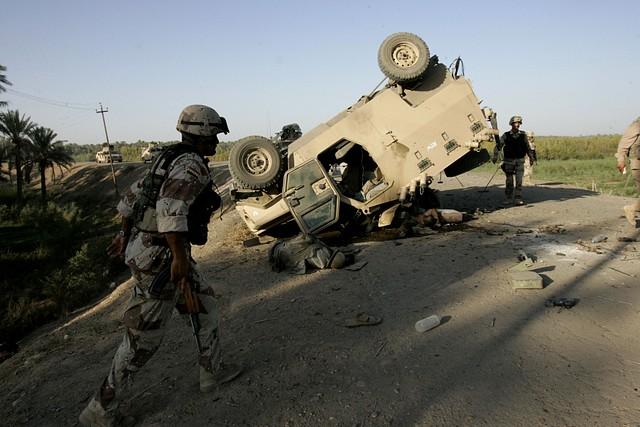IRAQ EXPLOSION