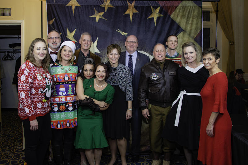 Stratcom J2 Holiday Party