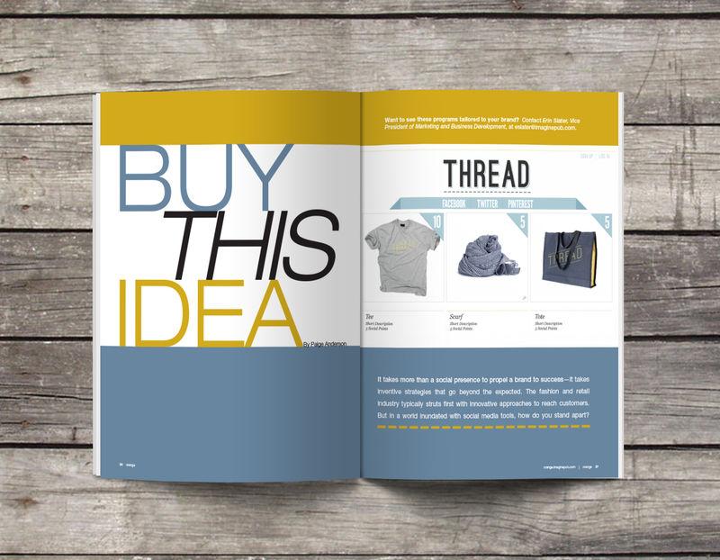 Editorial Design for Orange Magazine