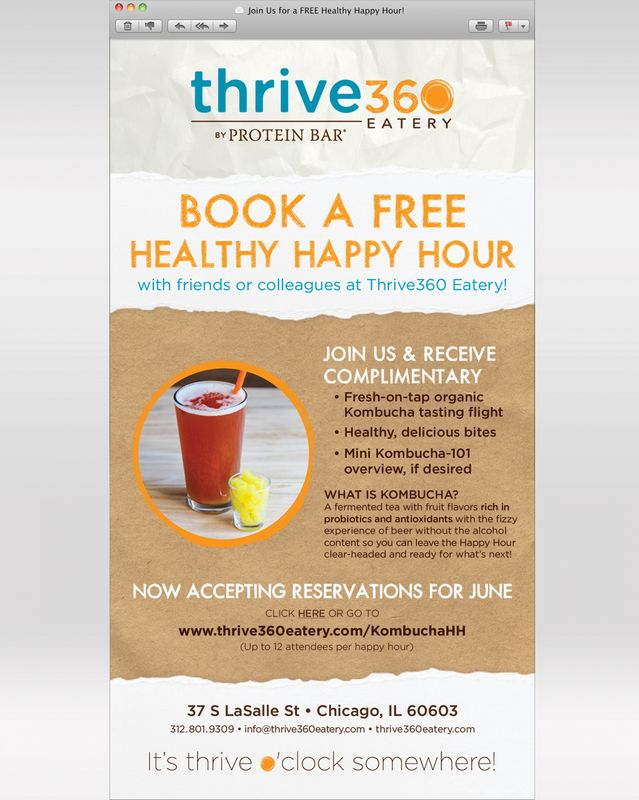 Email for Thrive360 Eatery