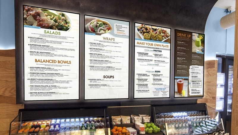 Thrive360 Eatery Menu Boards