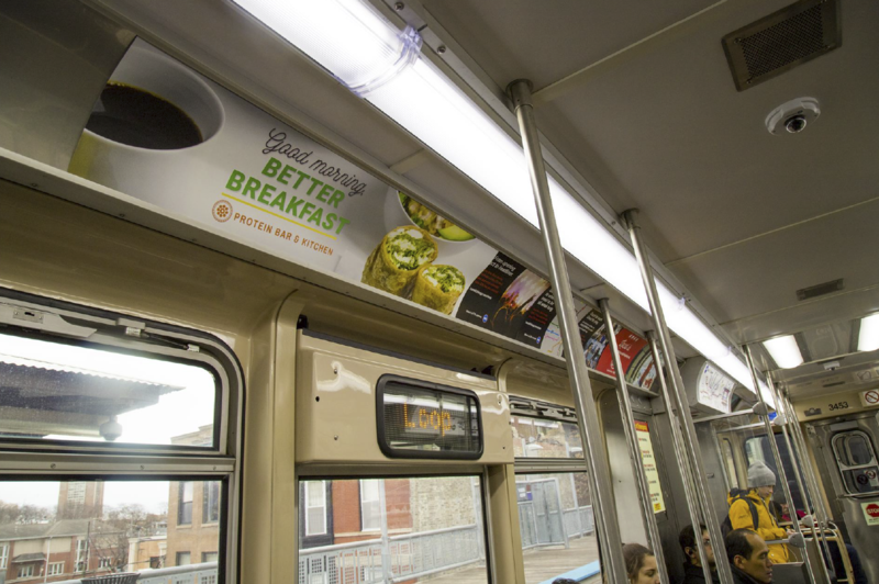 CTA Breakfast Campaign  (Chicago)