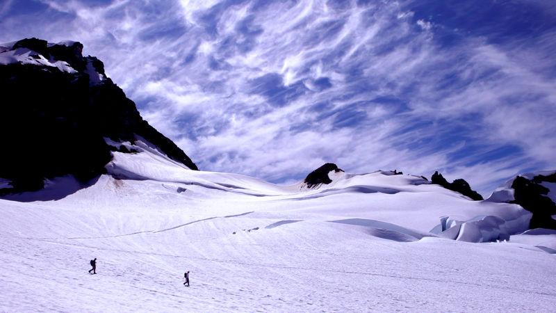 Mt Baker Descent