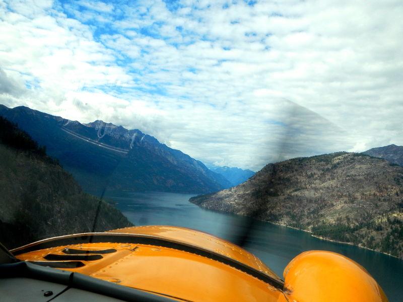 Flying to Stehekin