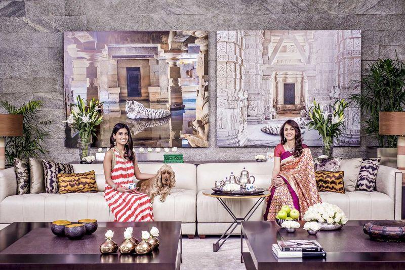 Dipika Jindal & Her Daughter - Hello Magazine