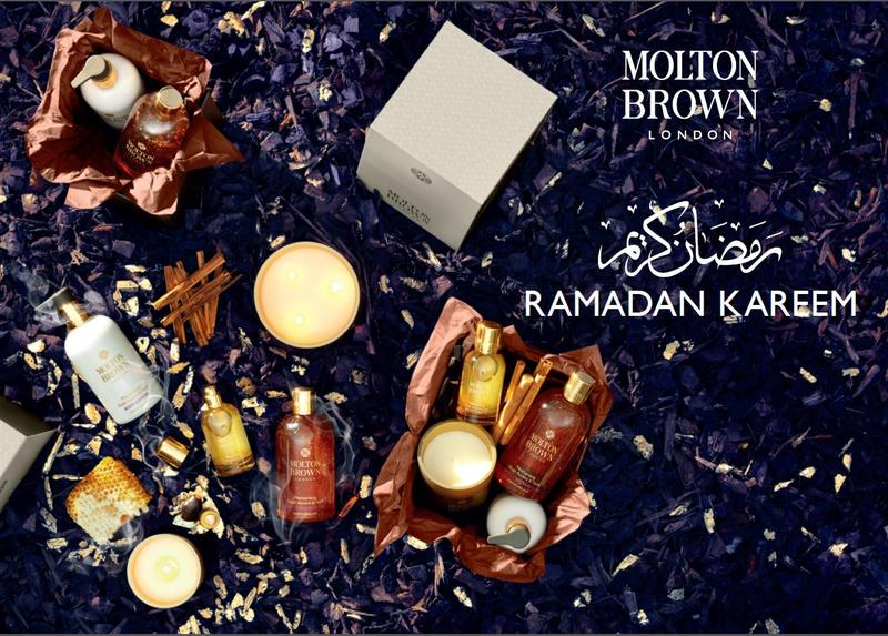 Molton Brown's opulent blend for the season: Mesmerizing Oudh Accord and Gold