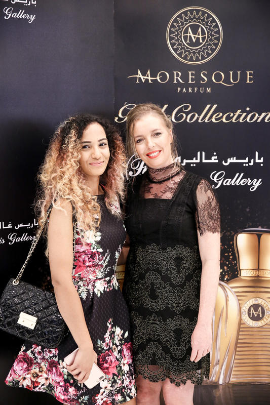 Moresque Parfum, the GOLD COLLECTION, now exclusively at Paris Gallery