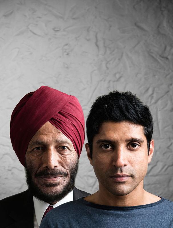 Milkha Singh & Farhan Akhtar