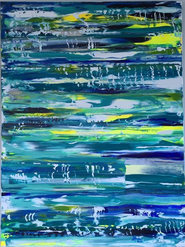 Shine Your Joy (40x30x1.5 inches) Acrylic on Canvas 2015