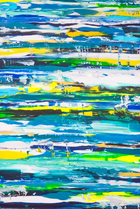 Harmony (40x30x1.5 inches) Acrylic on Canvas 2016