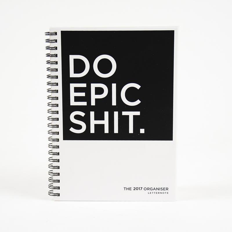 DO EPIC SHIT - 2017 ORGANISER