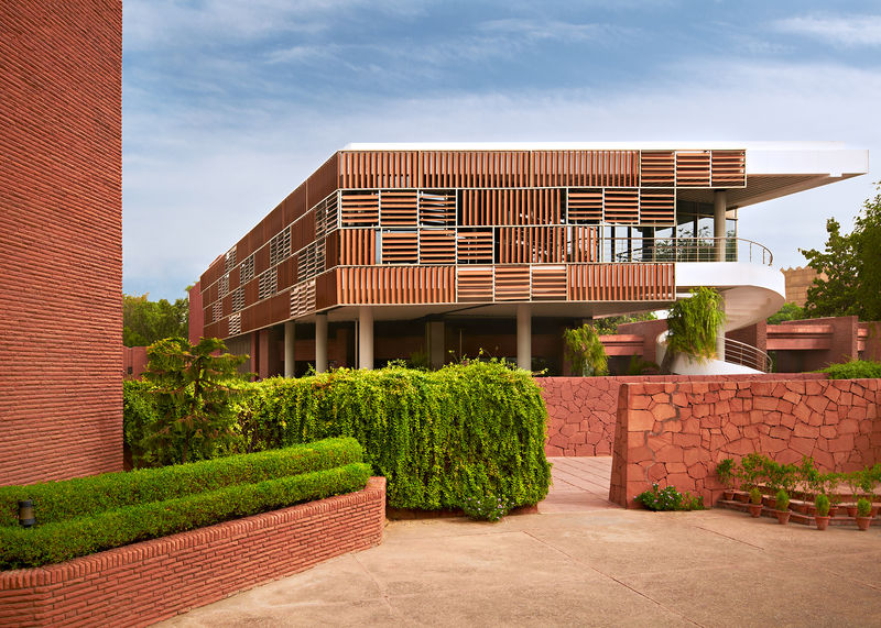 Embassy of the Republic of Korea, New Delhi - Architect Hyun-Kim Chang