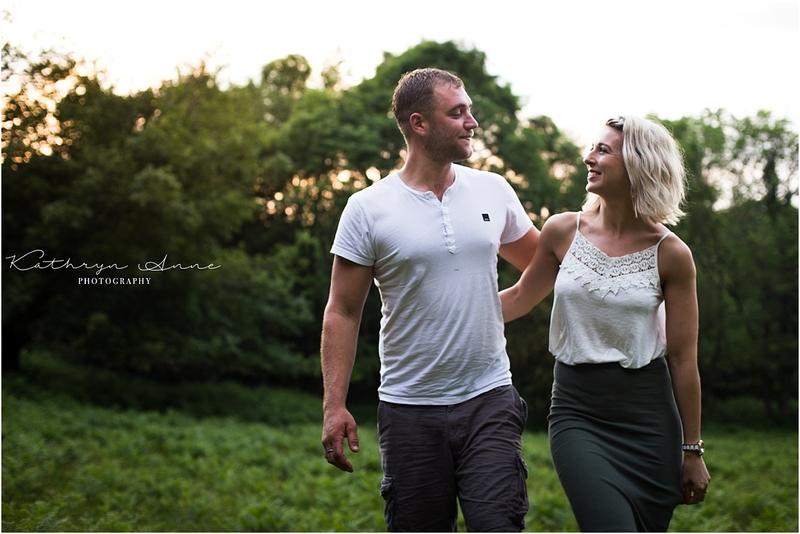 Becky & Phil: Quantocks Couples Shoot