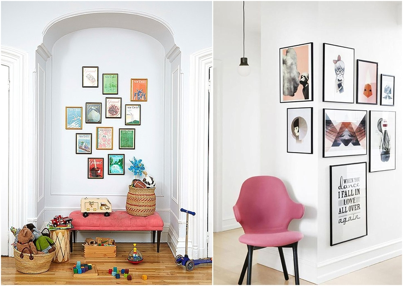 How To Hang Photos In Your Home Beautifully