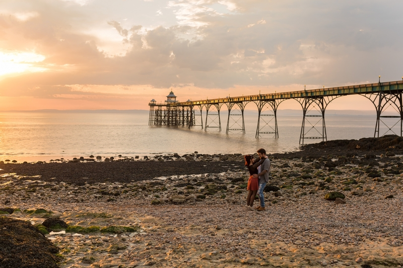 Emiliee & Stuart | Clevedon Pier