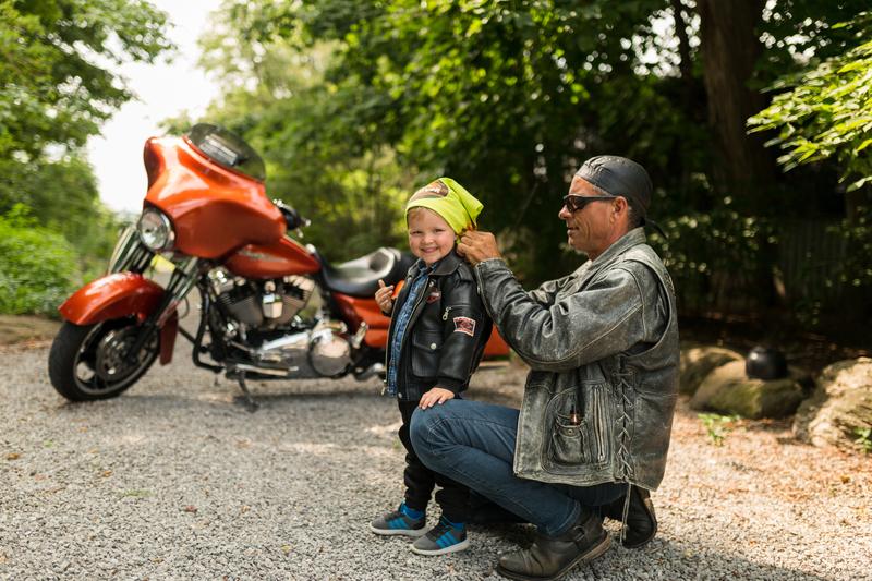 My Grandson & My Harley