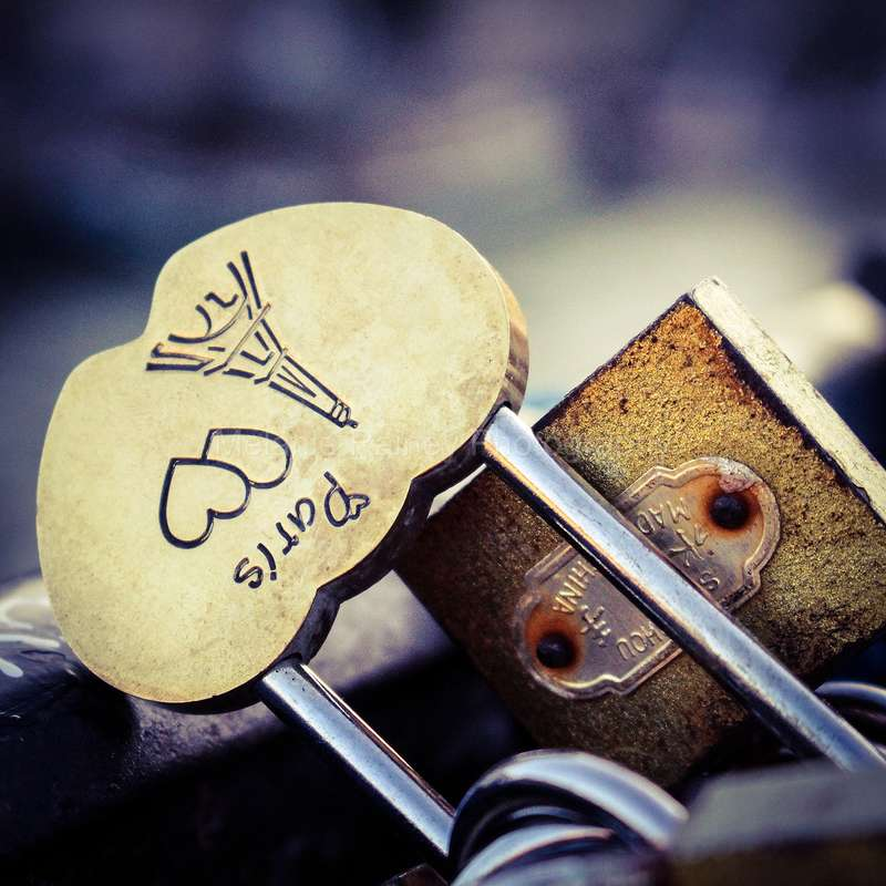 Love Locks - Paris, France