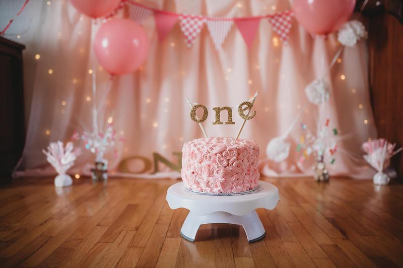 ONE  |  Emma's Cake Smash