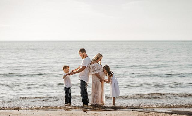 Callan + Will Family Beach Session