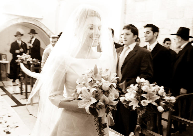 Mount Zion Jewish Orthodox wedding
