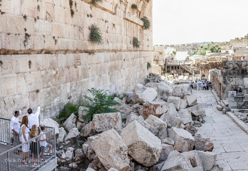 From Chicago to Western Wall, Jerusalem