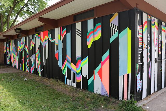 A.W.E. Mitchell Park Community Mural