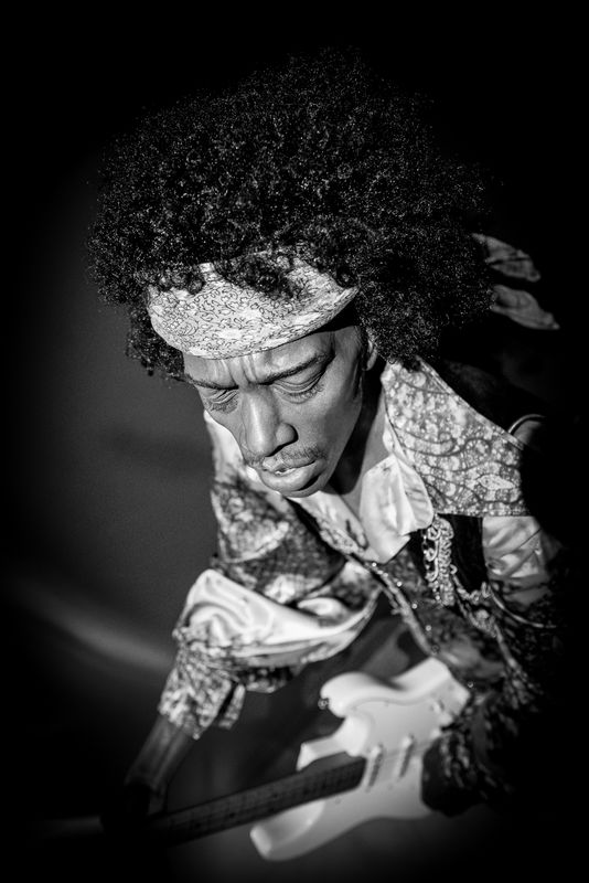 Jimmy Hendrix - Musée Grévin - Paris