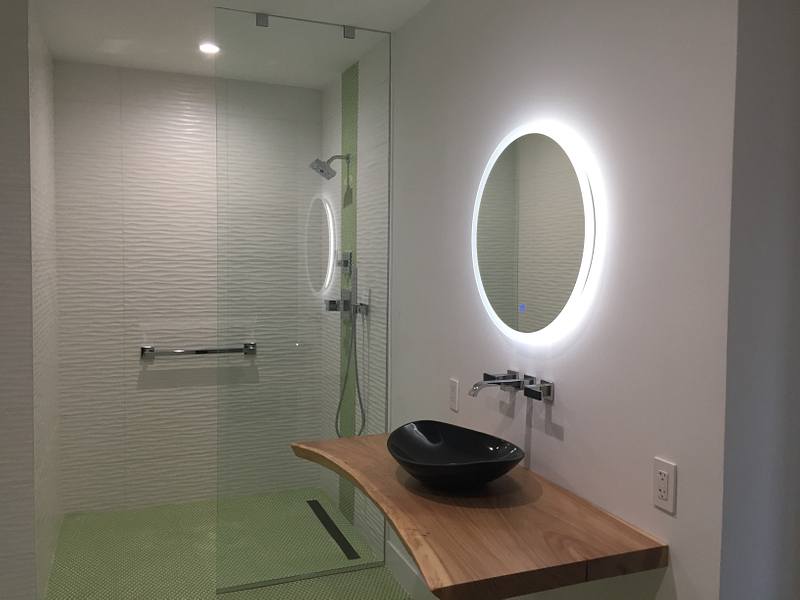 Contemporary Basement Bath