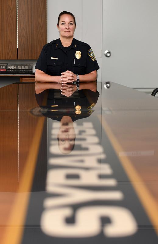 Syracuse Deputy Police Chief Del Favero