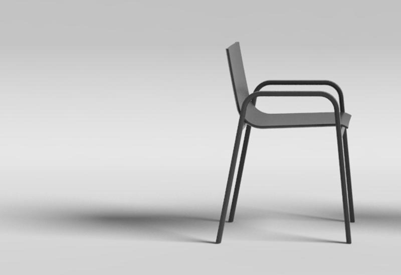 Stack Chair for Gandia Blasco