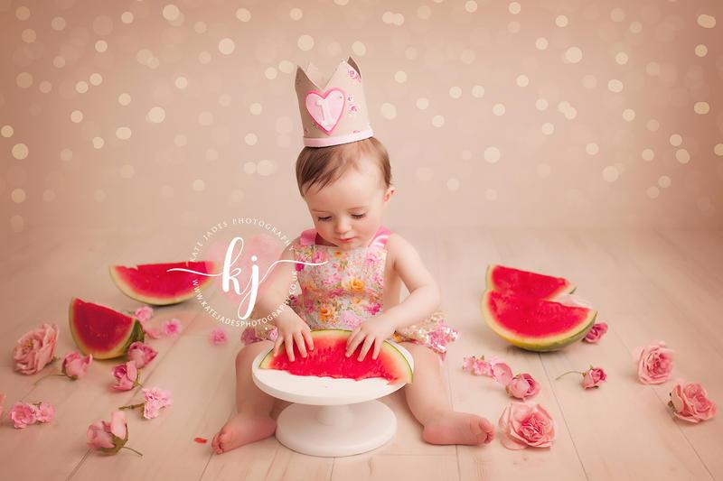 Cake Smash 1st Birthday Photographer Kate Jades Photography Covers