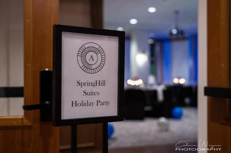 Spring Hill Suites Holiday Party