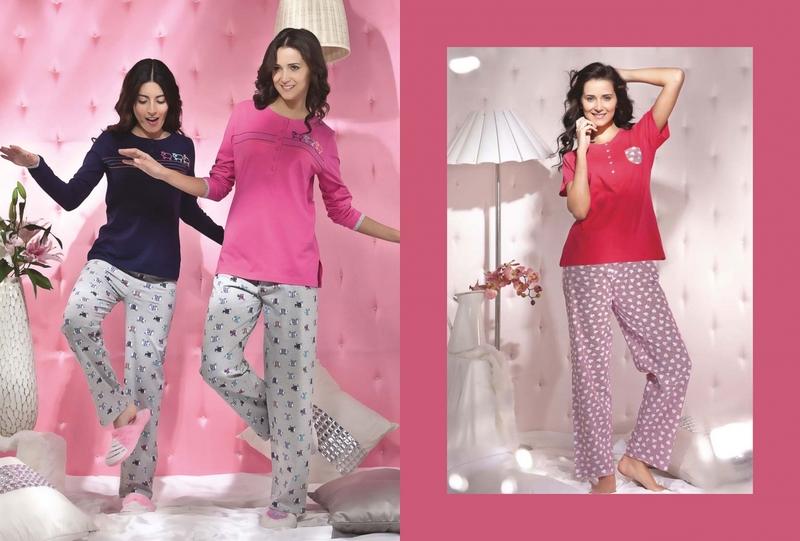 Pink Avenue Nightwear