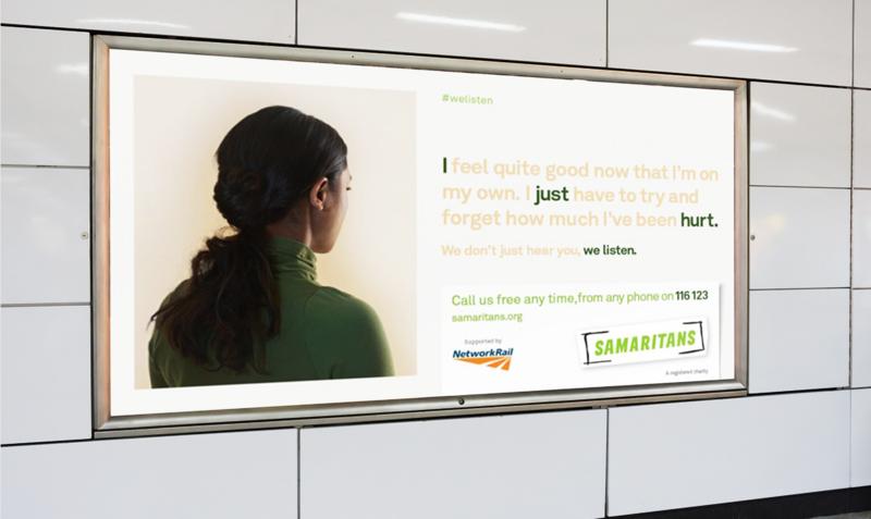 Samaritans x Network Rail