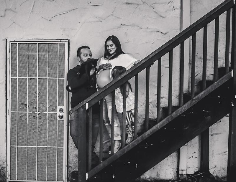 California, maternity lifestyle shoot