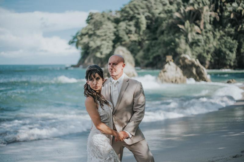 Kim & Mark, Destination Wedding in Manuel Antonio, Costa Rica