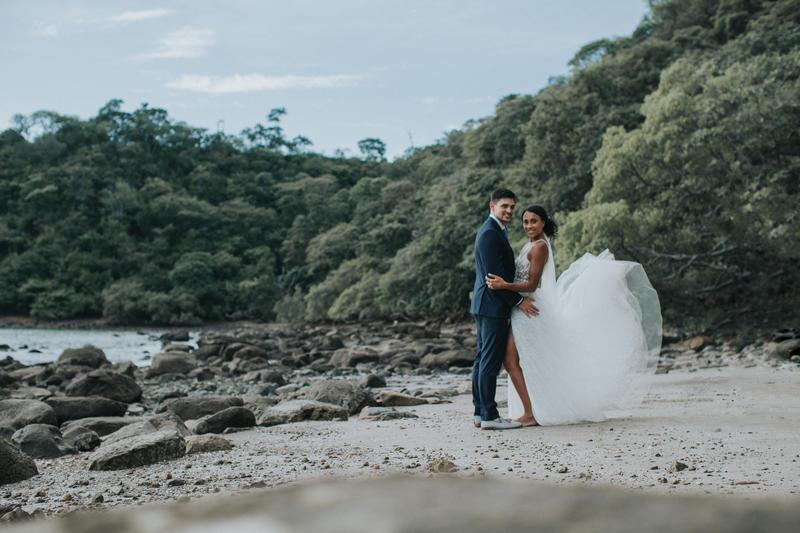 Arielle & Ricky, Wedding in Dreams Las Mareas, Costa Rica