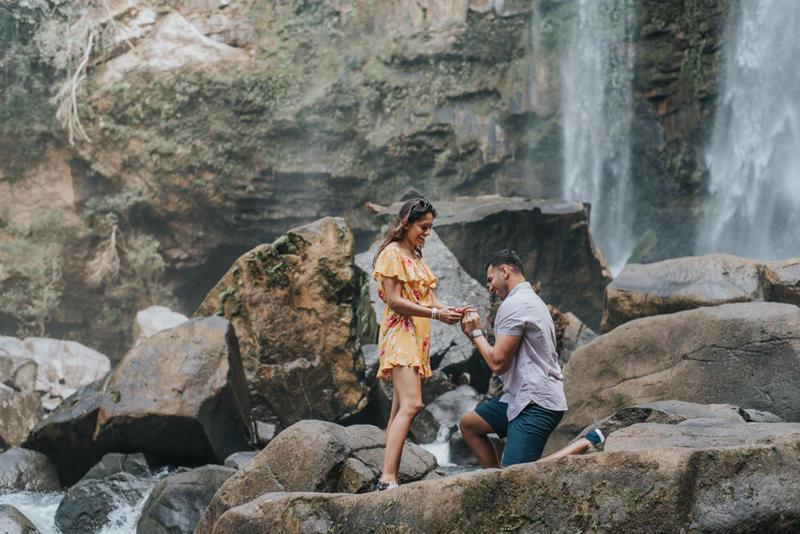 Shama & Shahbaz, Nauyaca Waterfall, Costa Rica