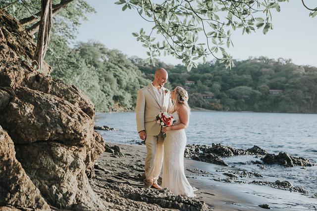 Danielle & Brett, Secrets Papagayo Wedding Costa Rica