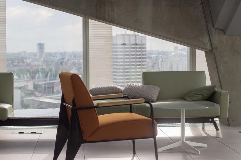Tangerine Easy Chair
