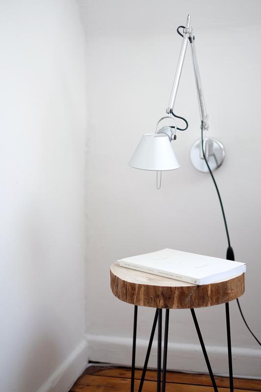 Wooden Oak Side Table