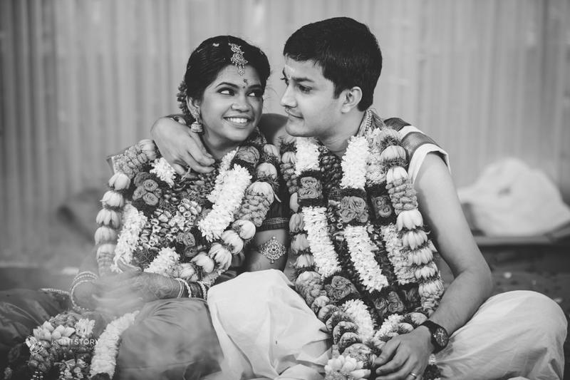 Mahesh + Gayathri - a charming wedding